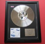 MADONNA - Erotica CD / PLATINUM PRESENTATION DISC